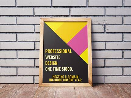 $1800 Professional Website For Small and Medium Business