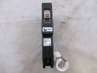 Eaton Cutler Hammer Ch120gfcs Type Ch 20 Amp Ground Fault Gfci Gfi Breaker