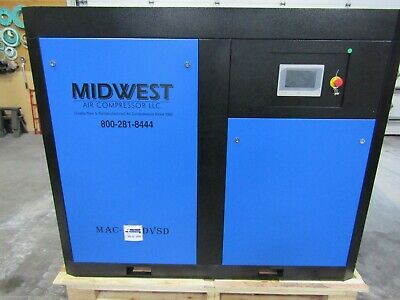 Air-max 75 Hp. Variable Speed Direct Drive Industrial Rotary Screw Compressor
