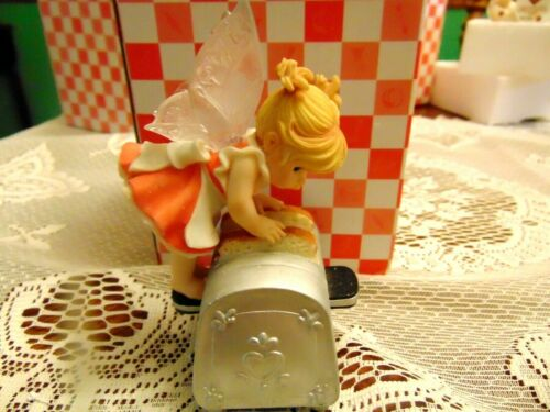 "2007 Enesco My Little Kitchen Fairie "" Toast Fairie "" IOB"