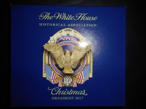 THE WHITE HOUSE Christmas Ornament 2017 Historical Association