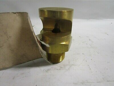 New Spraying Systems Co. 34k-180 Spray Nozzle 180 Yellow Brass 34