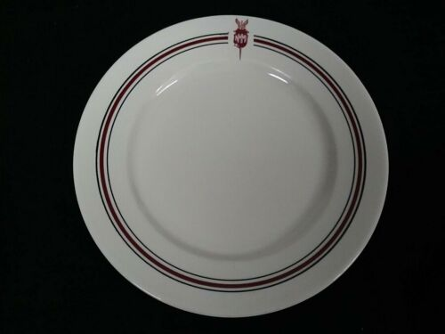 vtg NMMI NEW MEXICO MILITARY INSTITUTE ACADEMY MESS HALL SHENANGO DINNER PLATE