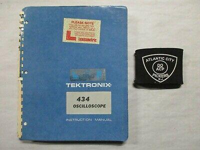 Tektronix 434 Oscilloscope Instruction Service Manual 070-1131-00