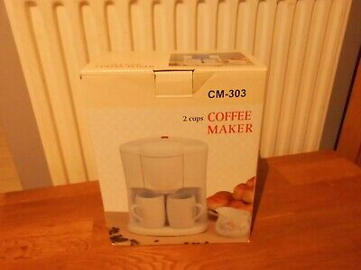 Vintage 2 Cup Coffee Maker with Instructions BNIB