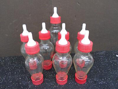 Lot Of 8 Mettler Toledo 7 250 Ml Separator Funnel Glass Bottles