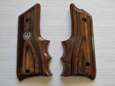 RUGER MARKII WRAP-AROUND EMBLEM Wood Grip Panels Mark II MOD For MarkIII MK III
