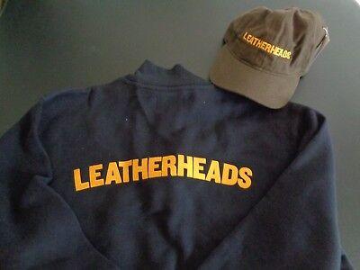 LEATHERHEADS Football Movie PROMO Hat & LARGE Sweatshirt 2008 George Clooney