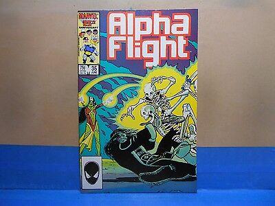 ALPHA FLIGHT Volume 1 #35 of 130 1983-1994 Marvel Comics Uncertified see below