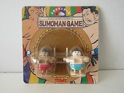 NEW VINTAGE TOMY PARTYMATE SUMOMAN GAME SUMO WRESTLERS WIND UP FIGURES MOC (Wind Up Wrestlers)