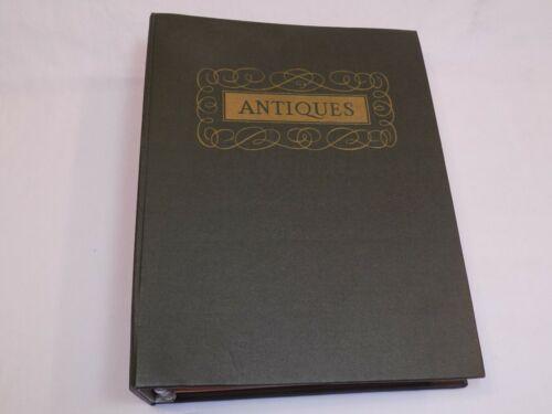 Antiques Magazine Binder Set LOT 1959 Jan Feb Mar May June July Aug Sept Oct Nov