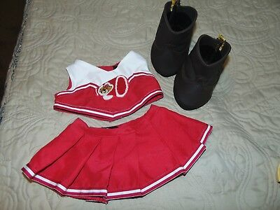 Cowboy Cheerleader Outfit (BUILD-A-BEAR CHEERLEADER OUTFIT AND BROWN COWBOY BOOTS - FREE)