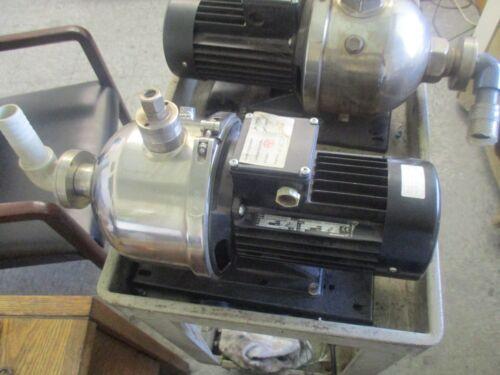Grundfos Type: CHI4-60 A-W-G-BUUE  Booster Pump.  Model: C 4JZ20040 P19939 <