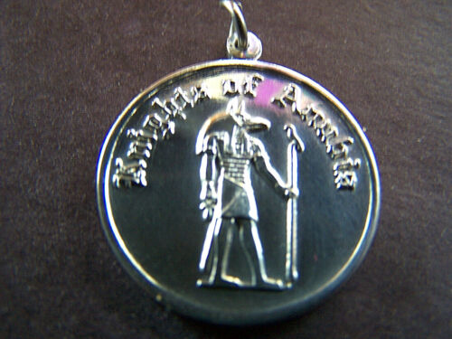 XRare 1968 Anubis PSYCHEDELICS Sterling Silver Mardi Gras Charm
