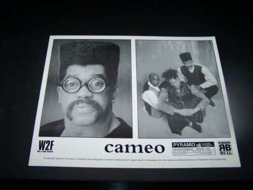 COLLECTIIBLE LEGENDS OF FUNK PROMO PHOTO LARRY BLACKMON & CAMEO   FAST SHIPPING