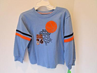 Boy's Carter's Long Sleeve T-Shirt-Basketball-Size 24 months