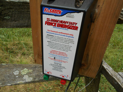 Fi-Shock SS-2000 Heavy Duty Fence Energizer