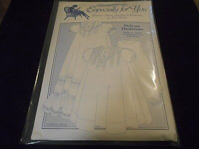 NEW SEWING PATTERN NB - 24 MO. DAYGOWN, DRESS, CHRISTENING GOWN & PETTICOAT