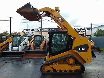 2013 Cat 279d - 2 Speed Turbo High Flow Ac Cab - Self Leveling - Stereo