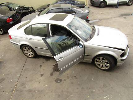 CAR FOR PARTS WRECKING SILVER  BMW E46 323i - CAR PARTS Seven Hills Blacktown Area Preview