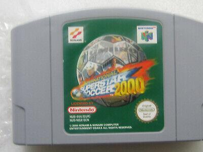 International Superstar Soccer 2000 - Nintendo 64 (2000) NUS-NISX-SCN