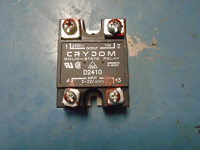 Crydom D2410 Ssr Solid State Relay Free Shipping