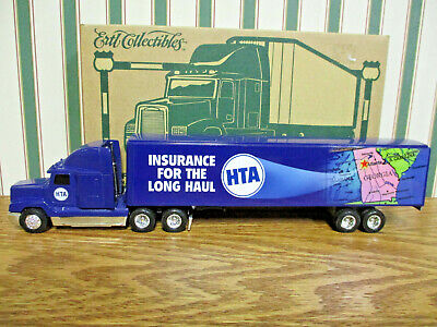 HTA Freightliner Semi With Van Trailer By Ertl 1/64th Scale