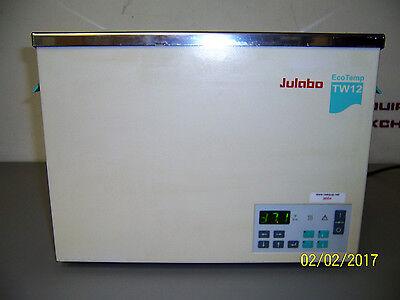 9664 Julabo Tw12 Eco Temp Heated Water Bath 13.5 X 10.5 X 5.5 Deep