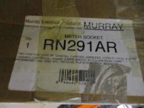 Murray 2 Position 1 Phase 100 Amp Meter Socket- NEW