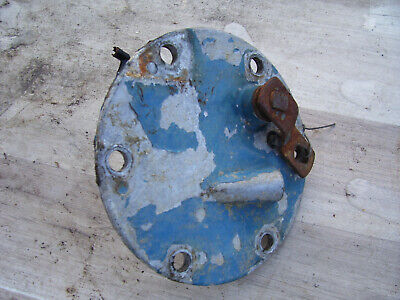 Vintage Ford 4000 Gas Tractor -hyd Side Cover Plate- 1964
