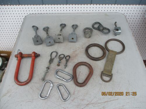 Large Lot Lineman Electrician Rigging Tools