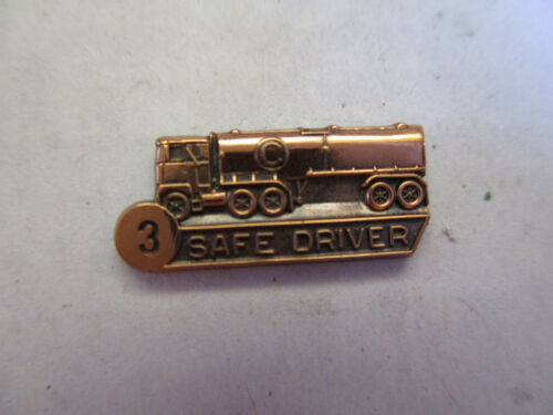 Circle C 3yr Trucking Truck Driver Employee Safety Award Pin