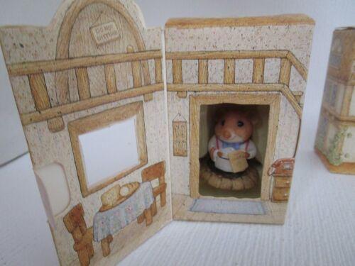 Moustershire  Innkeeper L. E. Hosten Mouse Figure 1990 Hallmark Figurine NEW