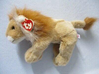 Ty Beanie Baby Buddy Stuffed Big Lion Sahara – 1997