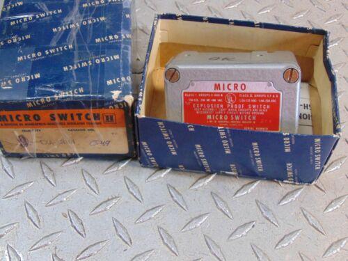 HONEYWELL EXA-AR161 MICRO SWITCH EXPLOSION PROOF SWITCH