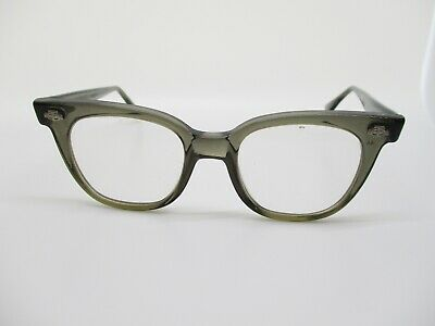 Titmus USA vintage brown geek chic sunglasses eyeglasses frames 43 18 (Geek Chic Glasses Frames)