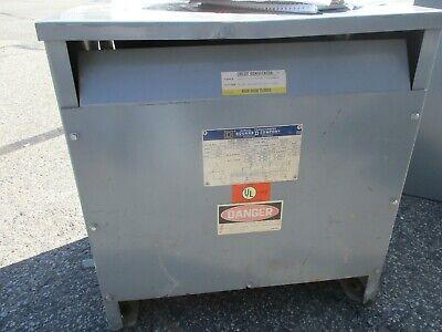 Square D 15t76h 15 Kva 3 Phase 480 X 480277 Volt Transformer Os- T110