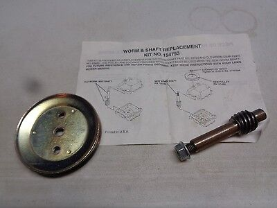AYP / Electrolux Worm & Shaft Replacement Kit 154753 532154753 ()
