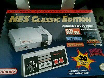 Nintendo Entertainment system Mini NES Classic Edition.