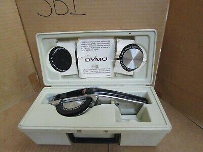 Dymo Deluxe Tapewriter Kit 1570 With Case Used