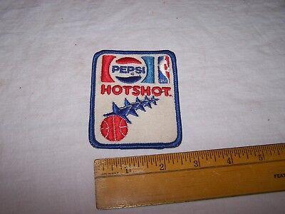 PEPSI Cola NBA HOTSHOT Patch