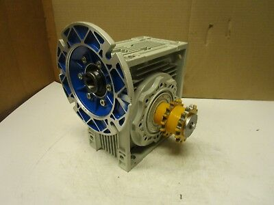 Motovario Nmrv 090 Double Output Right Angle Gearbox 401 Ratio