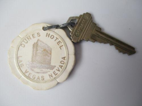 vintage Dunes Casino Las Vegas Nevada Hotel Room Key Fob Tag