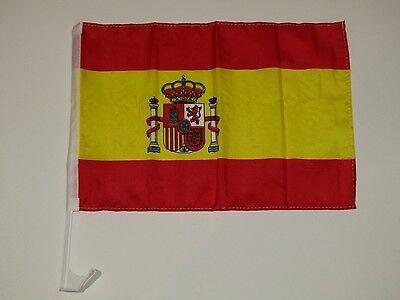 12x18 Spain Spanish Car Window Vehicle 12