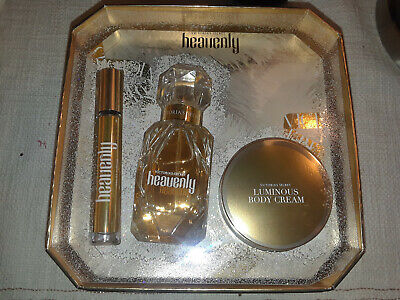 Victoria Secret HEAVENLY Perfume Luxe Gift Set - BRAND NEW IN BOX.