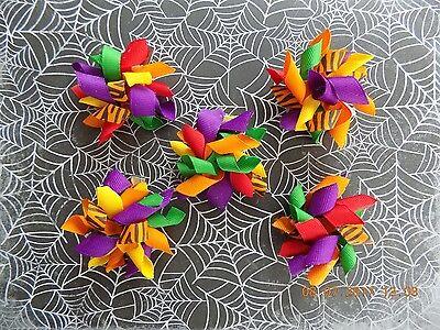 Halloween Dog Korker Bows - Halloween Bows for Dogs - Handmade - USA Seller