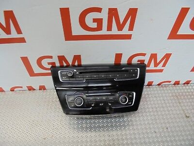 CD audio radio control panel 9371460 BMW X1 F48 Climate control unit