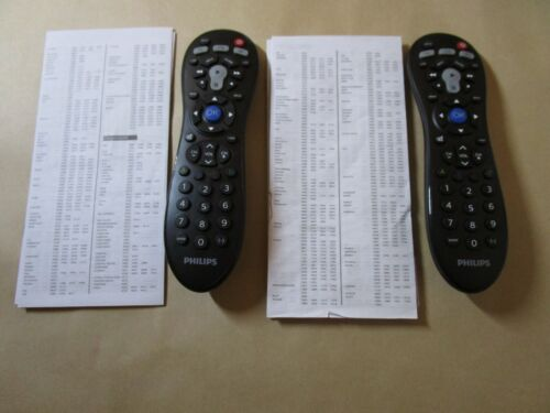 Lot of 2 Philips SRP3013/27 3-IN-1 Universal Remote Controls