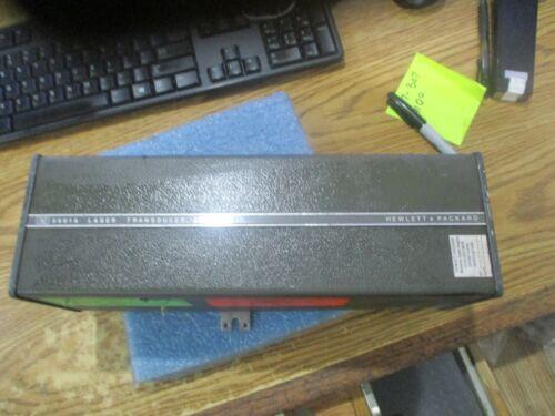 Hewlett Packard Model: 5501A Laser Transducer    <