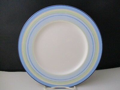 NORITAKE JAVA BLUE SWIRL ACCENT PLATE 9 5/8